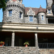 Veranda at entrance to boldt castle — Stock Photo