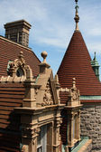 Architecture et pics de dessus de toit — Photo