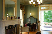 Interior design victorian style — Stock Photo