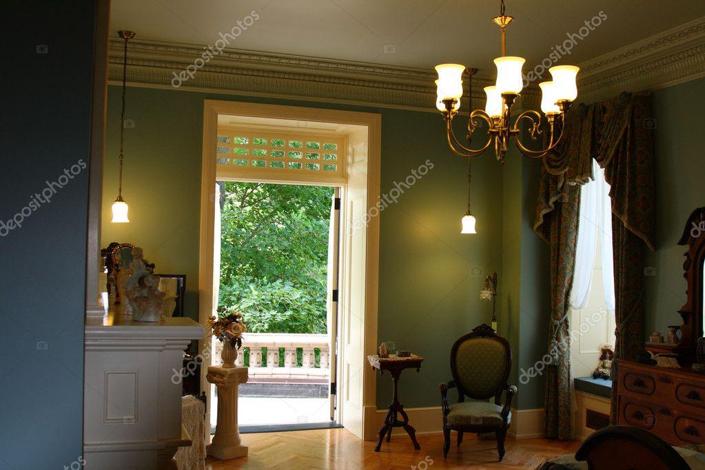 chambre coucher de style victorien en d coration int rieure photographie njene 8234702. Black Bedroom Furniture Sets. Home Design Ideas