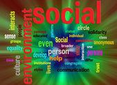 Social environment — Stock Photo