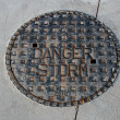 Storm drainage cover — Stock Photo #9285509