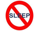 No sleep or insomnia — Stock Photo