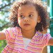 Beautiful little girl — Stockfoto #9674208