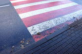Street passage after rain — Stock Photo