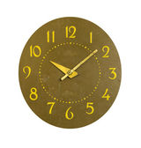 Isolated retro and grunge clock dial — 图库照片