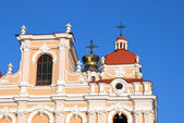 Saint Casimir Church in Vilnius, Lithuania — Stock Photo