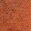 Historical red bricks wall background — Stock Photo