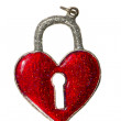Isolated valentine day heart symbol — Stock Photo
