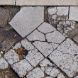 Old urban concrete pavement background — Stock Photo