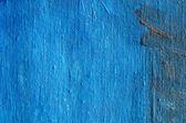 アクリルの青い塗られたキャンバスの背景 — ストック写真
