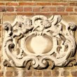 Ornamental historical wall background — Stock Photo