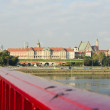 Stock Photo: Warsaw panoramand morning light