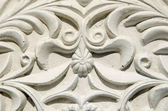 Vintage gypsum moulding ornaments — Stock Photo