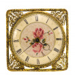 Stock Photo: Isolated vintage and ornate clock