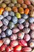 七彩复活节彩蛋 — 图库照片