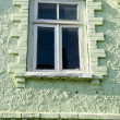 Historical house window — Stock Photo