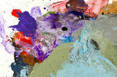 Ressam paleti renkli arka plan — Stok fotoğraf