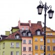 Stock Photo: Lamp in Warsaw old town
