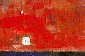 Acrylic painted canvas orange background — Stock Photo