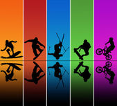 Active sports — Stock Photo