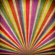 Multicolor Sunbeams grudge background — 图库照片