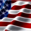 American flag abstract background — Stock Photo #9295289