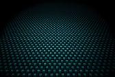 Blue carbon fiber background — Stock Photo