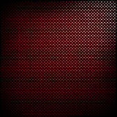 Red carbon fiber background — Stock Photo