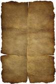 Staré vinobraní papír textury nebo pozadí se stopami záhyby — Stock fotografie