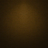 Yellow carbon fiber background or texture — Stock fotografie