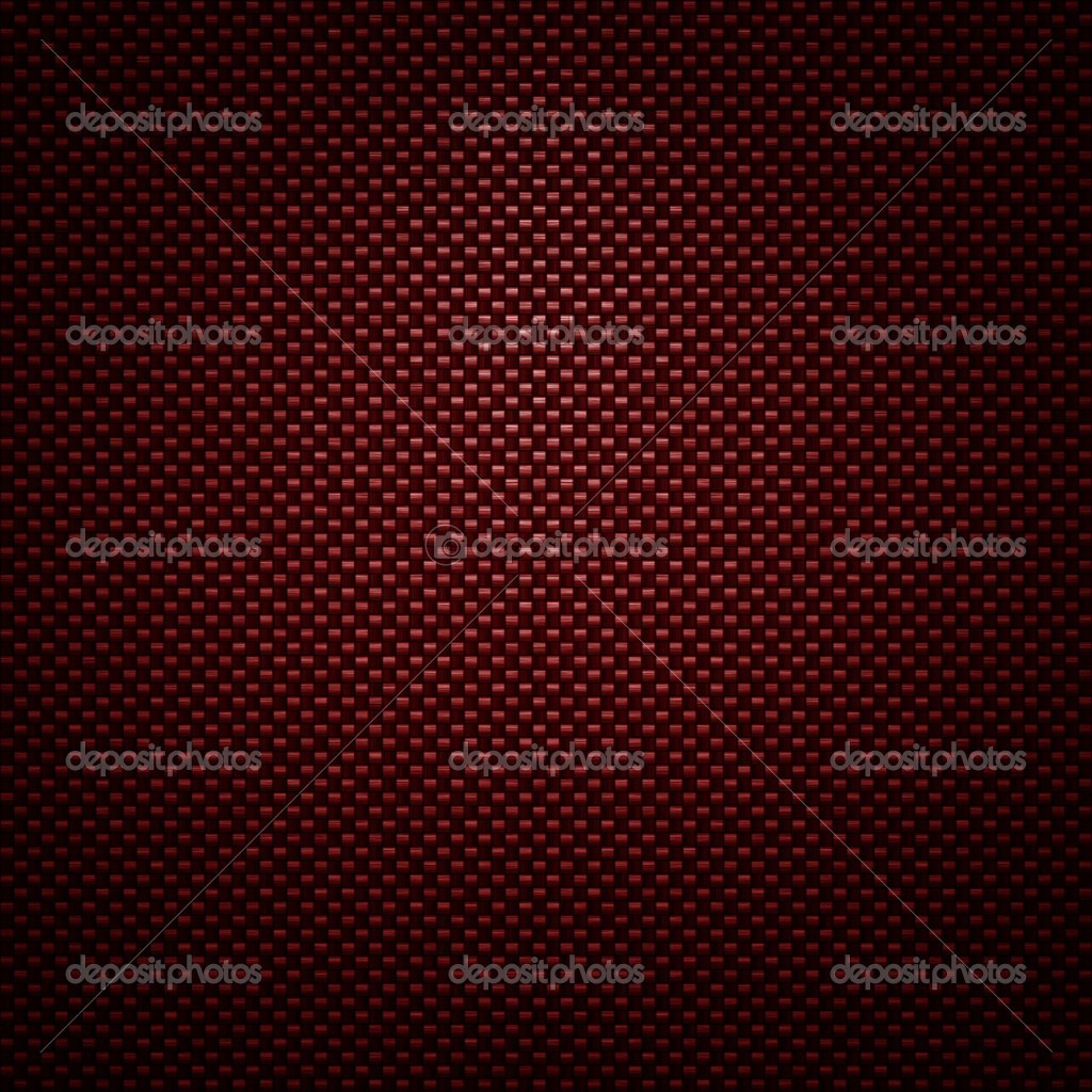 Red carbon fiber background or texture — Stock Photo ...