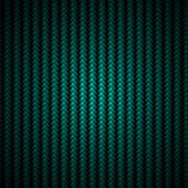 Realistic blue carbon fiber background — Stock Photo