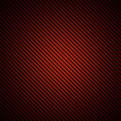 Realistic red carbon fiber background — Stock Photo