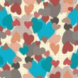 Hearts seamless pattern — Stock Vector #10353509