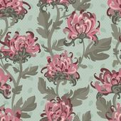 Seamless floral pattern. — Stock Vector