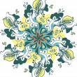 Stockvector : Floral pattern, background, lace