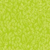 Seamless pattern and leaves — Stock Vector