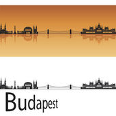 Budapest skyline — Stock Vector