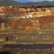 Open pit copper mine — Stock Photo #8554775