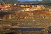 Open pit copper mine — Stock Photo