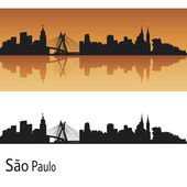 Sao Paulo skyline — Stock Vector