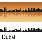 Dubai skyline — Stock Vector