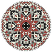 Arabische circulaire patroon — Stockvector