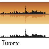 Toronto skyline — Stock Vector