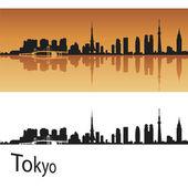 Tokyo skyline — Stock Vector