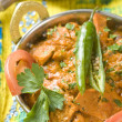 Indian food, Butter Chicken — Stock Photo