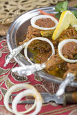Indian food, Chops Masala - Saddle of lamb. — Stock Photo