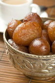Indian special sweet Gulab Jamun — Stock Photo