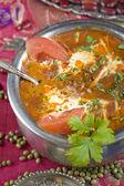 Indian food, Ma ki dal, Dal Makhani. — Stock Photo